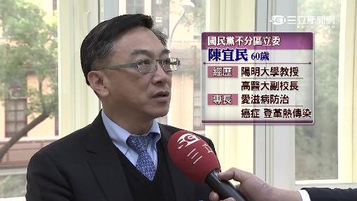 """新科立委陳宜民 """"棄醫從政""""進軍國會"""