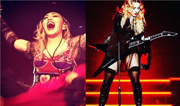 Madonna臉書