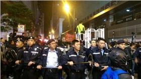 香港,旺角,示威,縱火/翻攝自學民思潮臉書