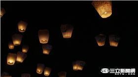 天佑台灣、台南加油!新北天燈節為災區祈福