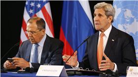 敘利亞停戰協議,美國國務卿,俄國外交部長 圖/美聯社/達志影像