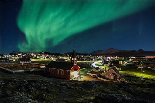 寂寞星球2016年十大推薦旅遊國度-格陵蘭島 圖片來源:格陵蘭官方旅遊網站 http://www.greenland.com/en/things-to-do/nature-experiences/northern-lights-in-greenland/