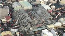維冠,台南,震災-翻攝自國防部發言人臉書