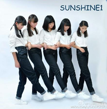 Sunshine,中國女子團體,高中女生,甜蜜具現式,醜,修圖