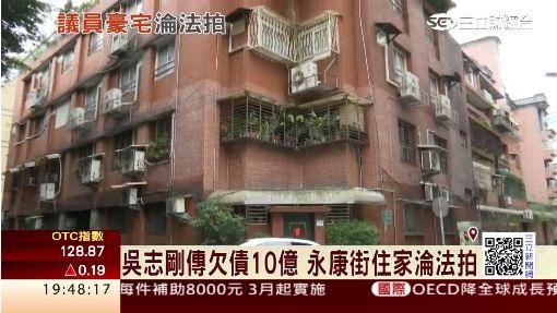 吳志剛傳欠債10億 永康街住家淪法拍