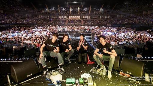 CNBLUE,演唱會,台南地震 圖/翻攝自CNBLUE粉絲專頁