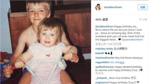 貝克漢Instagram