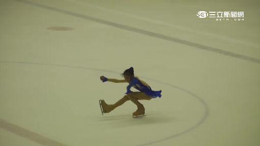 滑冰場邊「嬌」點 你丟我撿小花童接招