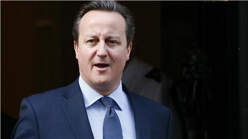 英國首相卡麥隆(David Cameron)_路透社