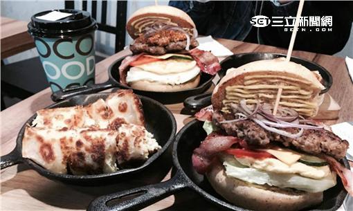 早餐、漢堡、蛋餅/記者楊惟甯提供