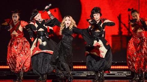 瑪丹娜演唱會 台灣主辦單位理想國LIVE NATION提供