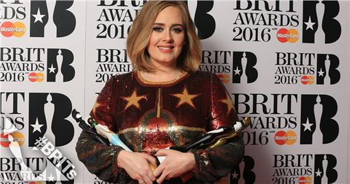 愛黛兒,Adele,全英音樂獎(圖/翻攝自BRIT Awards臉書)