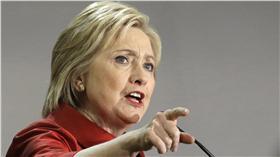 希拉蕊Hillary Clinton(圖/美聯社/達志影像)