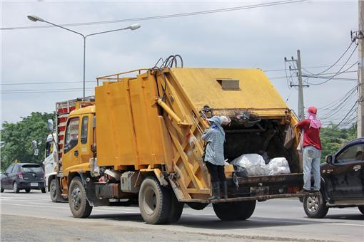垃圾車,回收,處理▲圖/達志影像