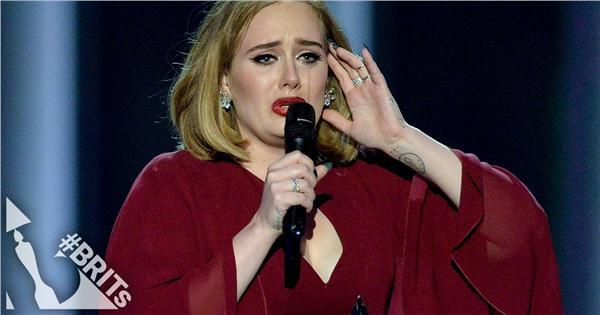 Adele 愛黛兒 @ 2016全英音樂獎