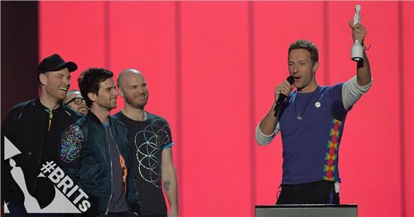 Coldplay 酷玩樂團 @ 2016全英音樂獎