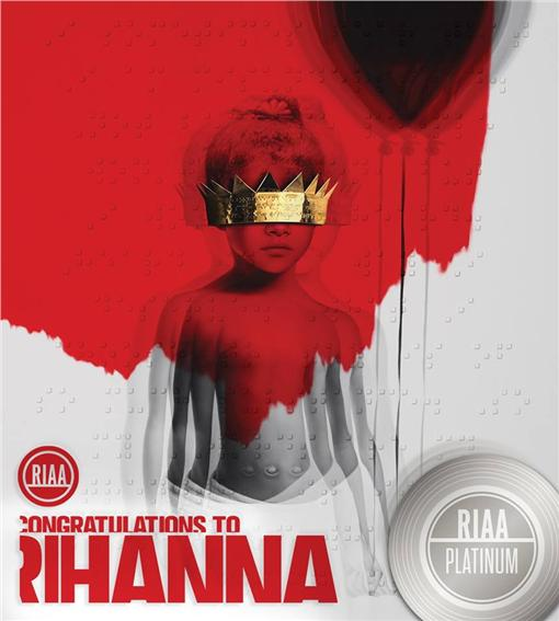 ▲蕾哈娜激情演出。(圖/翻攝自Rihanna臉書) https://www.facebook.com/rihanna/photos/pb.10092511675.-2207520000.1456408189./10153517612341676/?type=3&theater