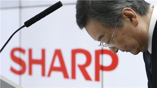 夏普、SHARP(圖/路透社/達志影像)