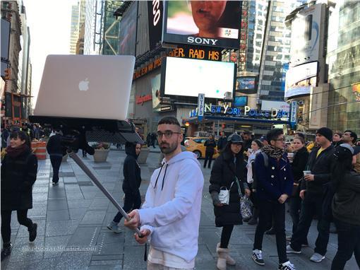 MacBook自拍棒