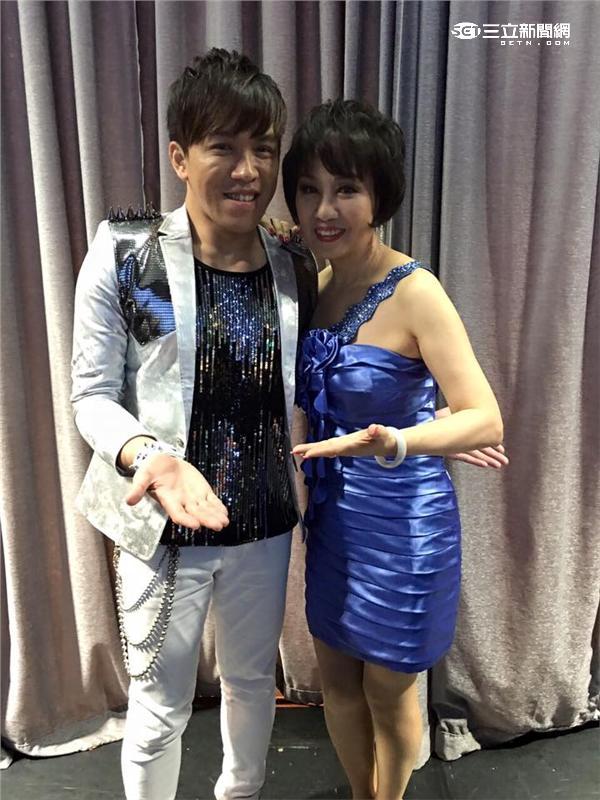 林淑容星國開唱特邀許志豪擔任演唱嘉賓