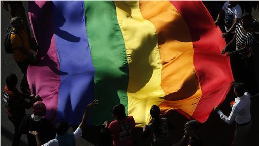 彩虹,同志,同性▲(圖/達志影像/美聯社)