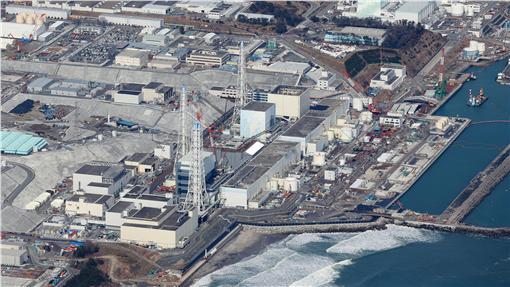 福島第一核電廠(圖/美聯社/達志影像)