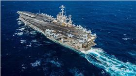 美軍航空母艦/翻攝自USS John C. Stennis (CVN 74)臉書