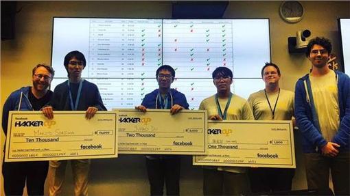 臉書,駭客,競賽,台大,資訊圖/翻攝自臉書
