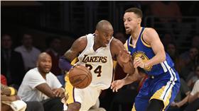 Stephen Curry,Kobe Bryant(ap)