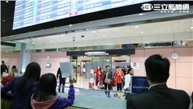 桃園機場、入境大廳(圖/記者王怡翔攝)