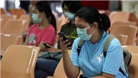 感冒、流感、口罩(圖/美聯社/達志影像)
