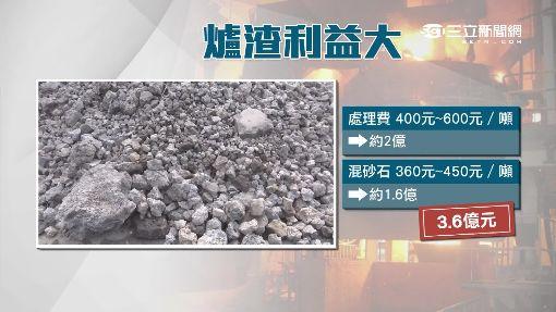 廢爐渣利益大 不肖回收流市面「年可賺億」