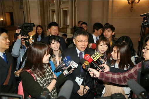 柯文哲,柯P,訪美,參訪▲圖/台北市政府提供