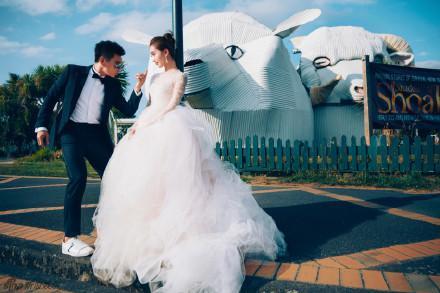 劉詩詩吳奇隆婚紗