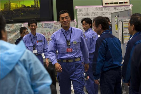 福島核電廠內(圖/美聯社/達志影像)