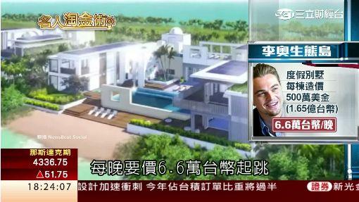 李奧納多奪小金人 靠豪宅鍍金身價70億