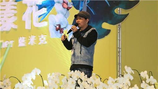 ▲台灣知名音樂作詞人方文山蒞臨台灣國際蘭展暢談文化創意產業發想 。(圖/台南市政府)