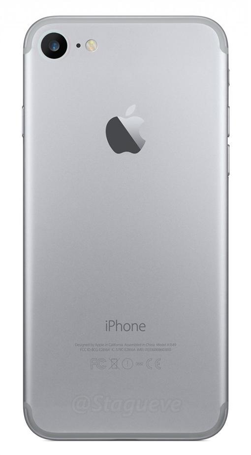iPhone 7背殼照 (圖/翻攝自NowhereElse.fr)