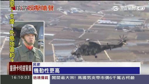 """重裝抗北韓! """"雄鷹""""直升機升空護南韓"""