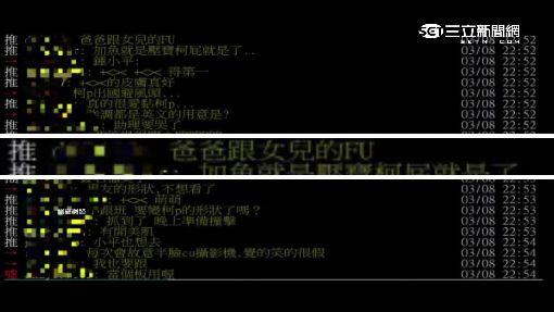 """""""黏柯""""拚曝光 網友kuso高嘉瑜""""父女配"""""""