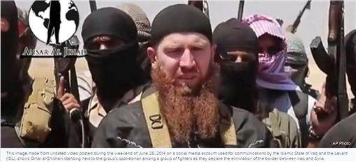 伊斯蘭國(IS)高階指揮官西沙尼(圖/翻攝自ABC News)