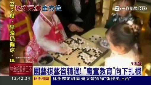 北韓魔童怎打造? 5歲女娃寫歌30首