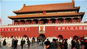天安門,紫禁城入口(圖/翻攝自維基百科)