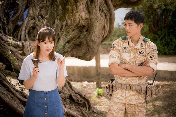 太陽的後裔-翻攝自KBS太陽的後裔官網http://www.kbs.co.kr/drama/sun/index.html