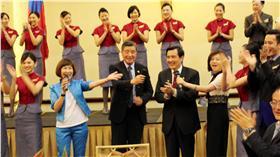 馬英九出訪中美洲/中央社提供