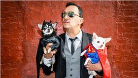 美國寵物時裝設計師為吉娃娃設計蝙蝠俠和超人裝 http://anthonyrubiodesigns.com/2016/03/07/batman-v-superman-chihuahua-edition/ https://www.instagram.com/anthonyrubio01/