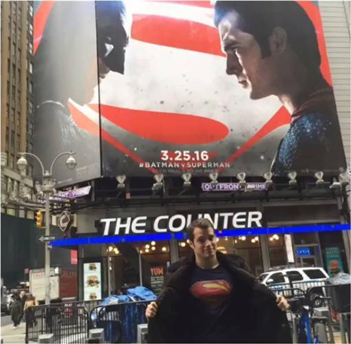亨利卡維爾,henry cavill,蝙蝠俠對超人 圖/翻攝自henrycavill IG