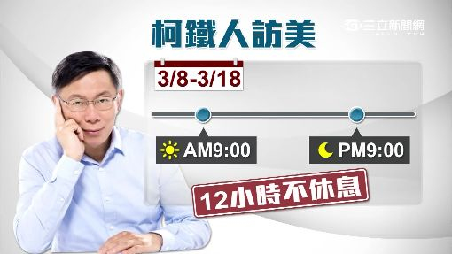 """11天鐵人團""""好操"""" 柯P破病.狂擤鼻涕"""