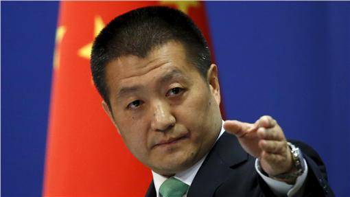中國外交部發言人陸慷/路透社/達志影像