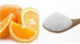 橙柑桔,鹽/合成圖,翻攝自百度